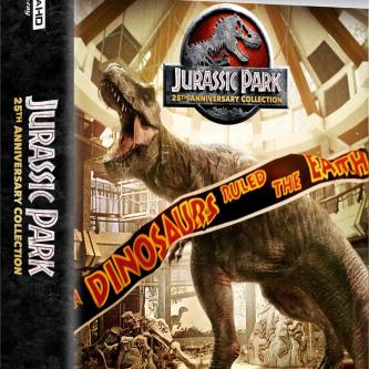 La saga Jurassic Park s'offre un joli coffret 4k pour ses 25 ans