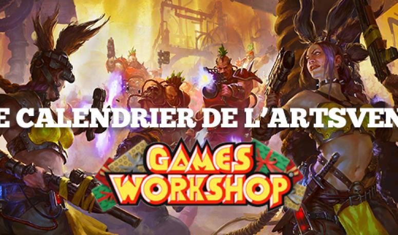Le calendrier de l'ARTSvent - Jour 4 : la sélection des cadeaux Games Workshop