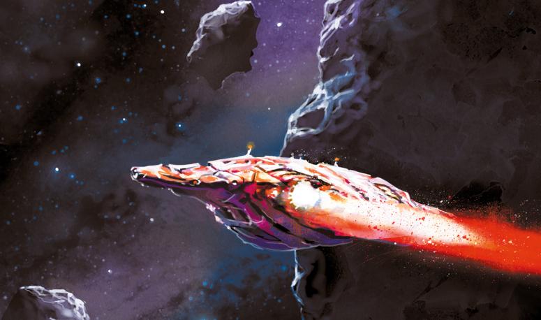 Braises de guerre (Gareth L. Powell) : un space-opera qui s'associe au thriller et au western !