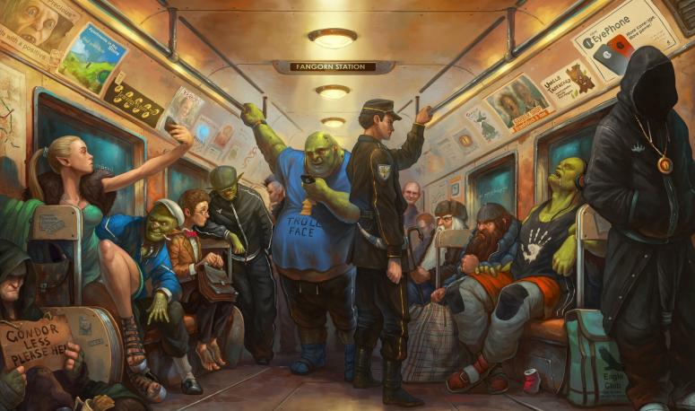 Dossier - 6 créations pour s'initier à l'urban fantasy !