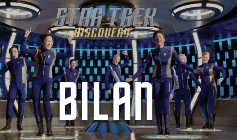 Star Trek Discovery : une première saison laborieuse et confuse